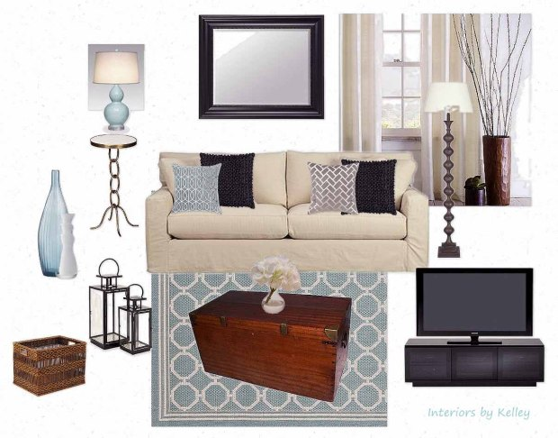 OB-Lively Living Room Teal
