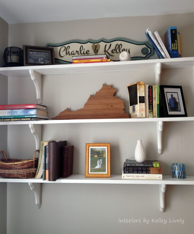 Shelves | Interiors by Kelley Lively