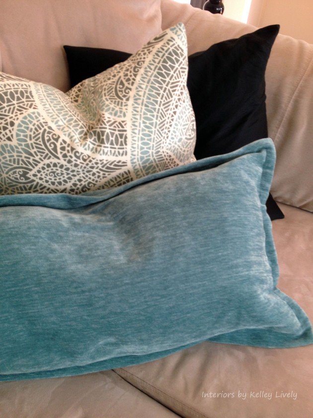 Throw Pillows | Interiors by Kelley Lively