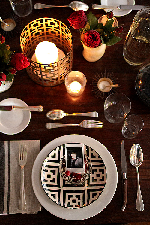Modern placesetting