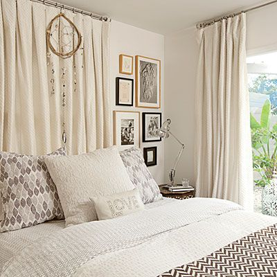 White Bedroom via Coastal Living _ Interiors by Kelley Lively