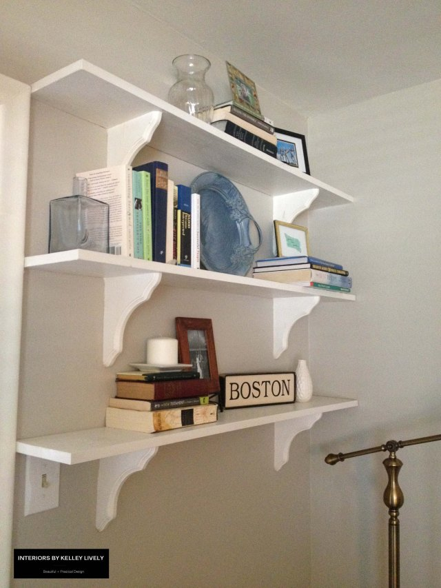 Living Room Shelves 2