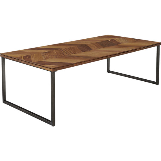 Chevron Coffee Table CB2
