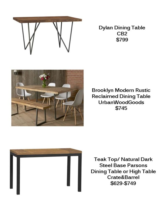 Dining Tables copy