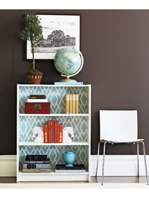 TIDBITS-TWINE-Fabric-Backed-Bookcase